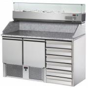 Стол для пиццы DGD Refrigeration SL02C6VR4