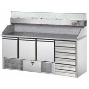 Стол для пиццы DGD Refrigeration SL03PZVR4