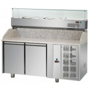 Стол для пиццы DGD Refrigeration  PZ02EKOGN