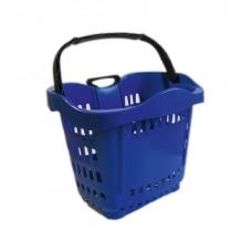 Корзина пластиковая на колесах
